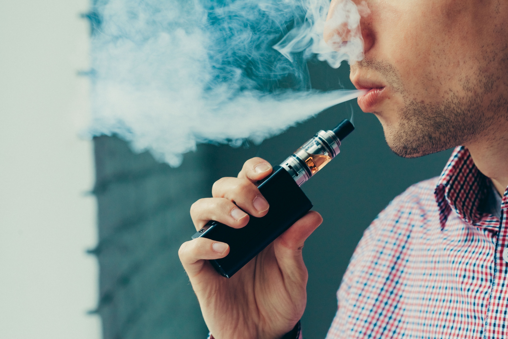 overcome depression with Vaping